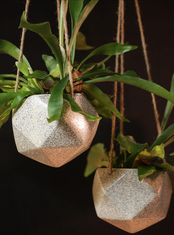 Hængepotte i keramik Ampel