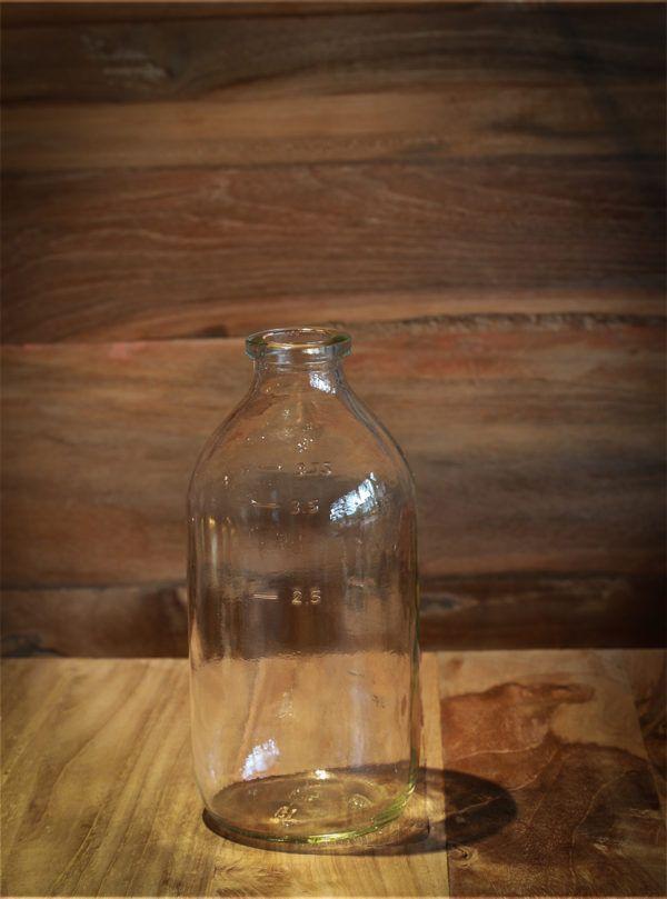 mælkeflaske 1/4 liter