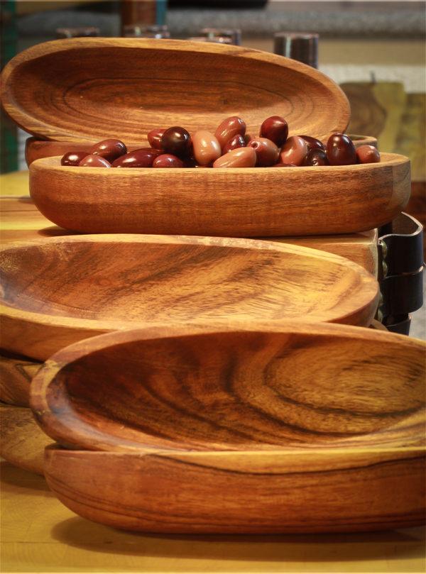 oliven tapas skål