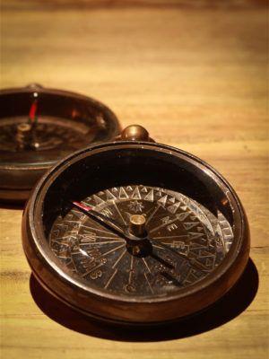 Kompas til dekoration