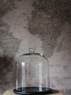 glasklokke mellem