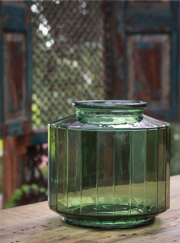 glasvase kantet the edge stor