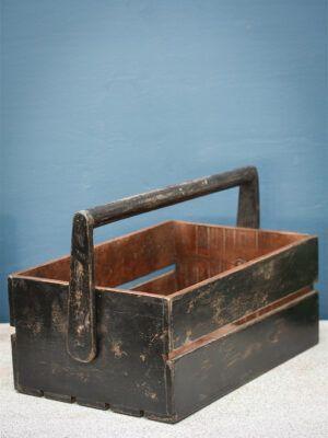 kasse med håndtag