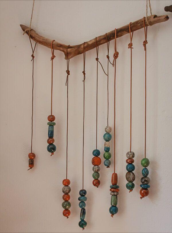perler i raku keramik